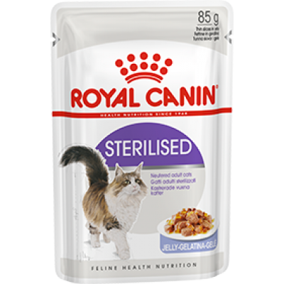 Royal canin sterilised (в желе) 85г