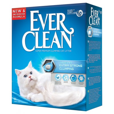 Ever clean Extra Strength unscented 6кг