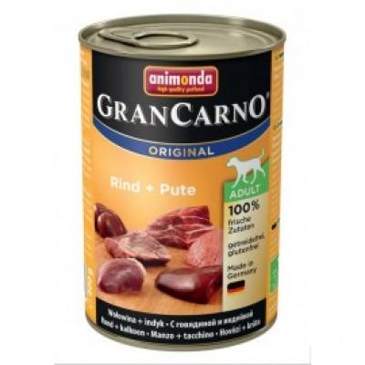 Gran Carno Fleisch Adult - с говядиной и индейкой