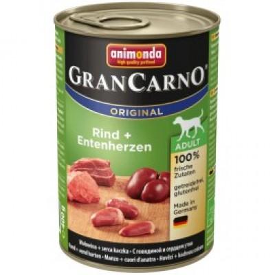 Gran Carno Fleisch Adult - с говядиной и сердцем утки