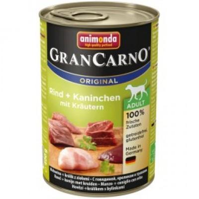 Gran Carno Fleisch Adult - с кроликом и травами