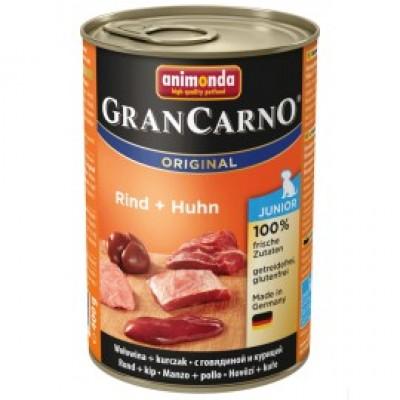 Gran Carno Fleisch Junior - с говядиной и курицей
