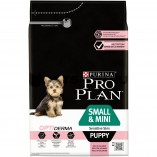 Pro Plan small & mini puppy  (лосось, рис) 3кг