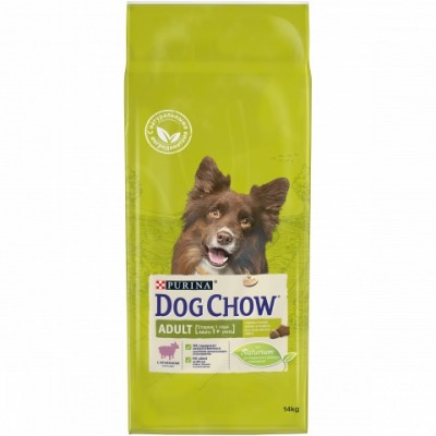 Dog chow с ягненком 14 кг