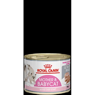 Royal canin mother & babycat (мусс) 195г