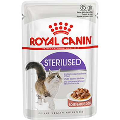 Royal canin sterilised (в соусе) 85г