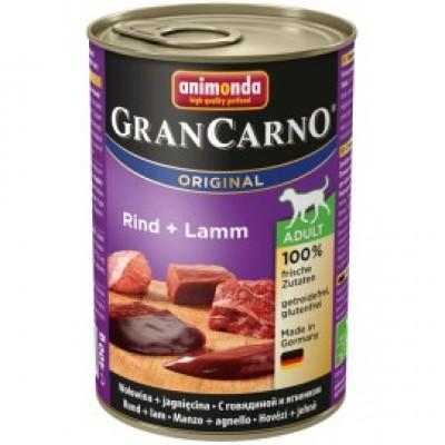 Gran Carno Fleisch Adult - с говядиной и ягненком