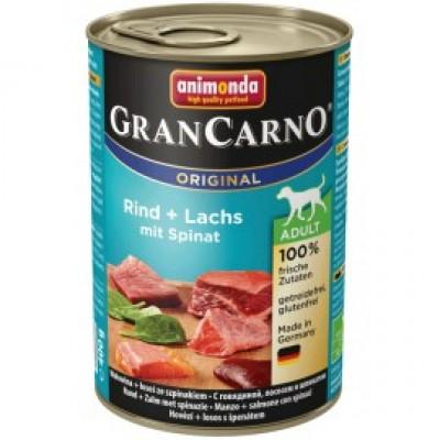 Gran Carno Fleisch Adult - с лососем и шпинатом