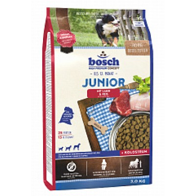 Bosch junior lamb (ягненок и рис)